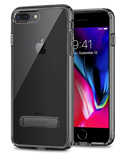 separation shoes ef6a1 e7a40 Spigen Ultra Hybrid S Designed for Apple iPhone 8 Plus Case (2017) /  Designed for iPhone 7 Plus Case (2016) - Space Crystal
