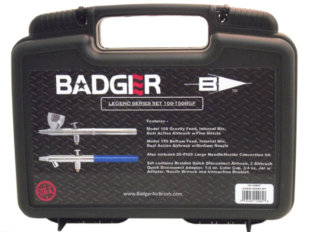 Badger Air-Brush Co. 100-150BGF Legend Series Set