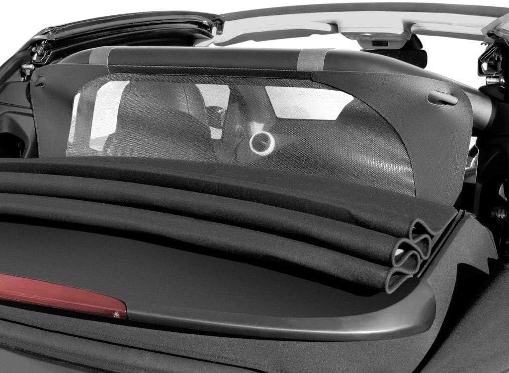 Draft-stop Tailor made windblocker Aperta Black wind deflector compatible with Mercedes-Benz E-Class Windstopper Mercedes-Benz convertible