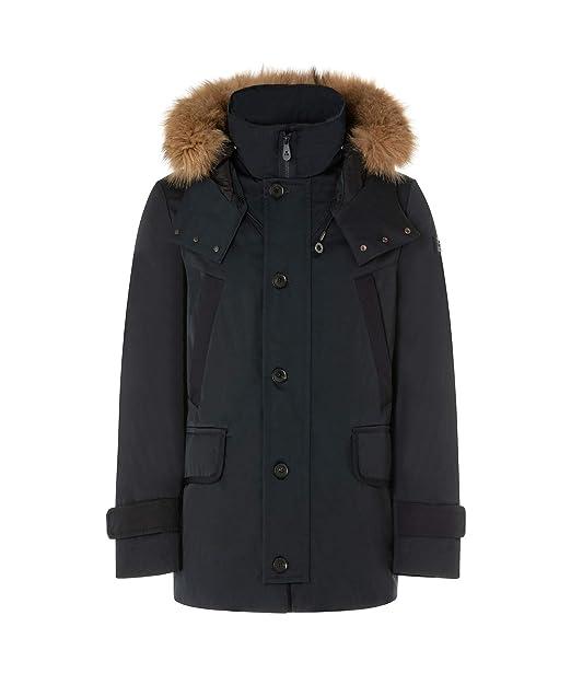 Peuterey SEGENAM AM FUR Giacconi Uomo Blu XL  Amazon.it  Abbigliamento b585d81559be