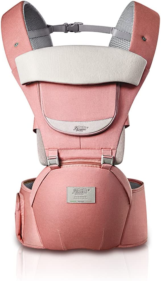 SONARIN 3 in 1 All Season Breathable Hipseat Baby Carrier,Sun Protection,Ergonomic,Multifunction,Easy Mom,Adapted to Your Childs Growing Gray 100/% Guarantee and Free DELIVERY,Ideal Gift