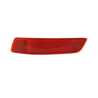 TYC 17-5372-00-1 Compatible with LEXUS Left Replacement Reflex Reflector: Automotive