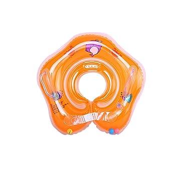 WinCret Flotador Cuello Bebe Ajustable Inflable Doble Airbag Flotador Cuello para 1-18 Meses Bebé: Amazon.es: Deportes y aire libre