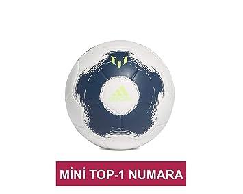 adidas Messi Mini, Balón, Tech Indigo/White/Signal Green, Talla ...
