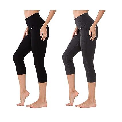 4b67c916f61bf8 Ogeenier - Women's Tummy Control Workout Leggings Runing Pants,High Waist  with Hidden Pocket Seamless