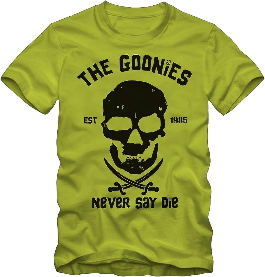Bisura T-Shirt The Goonies Never Say Die Film 1985