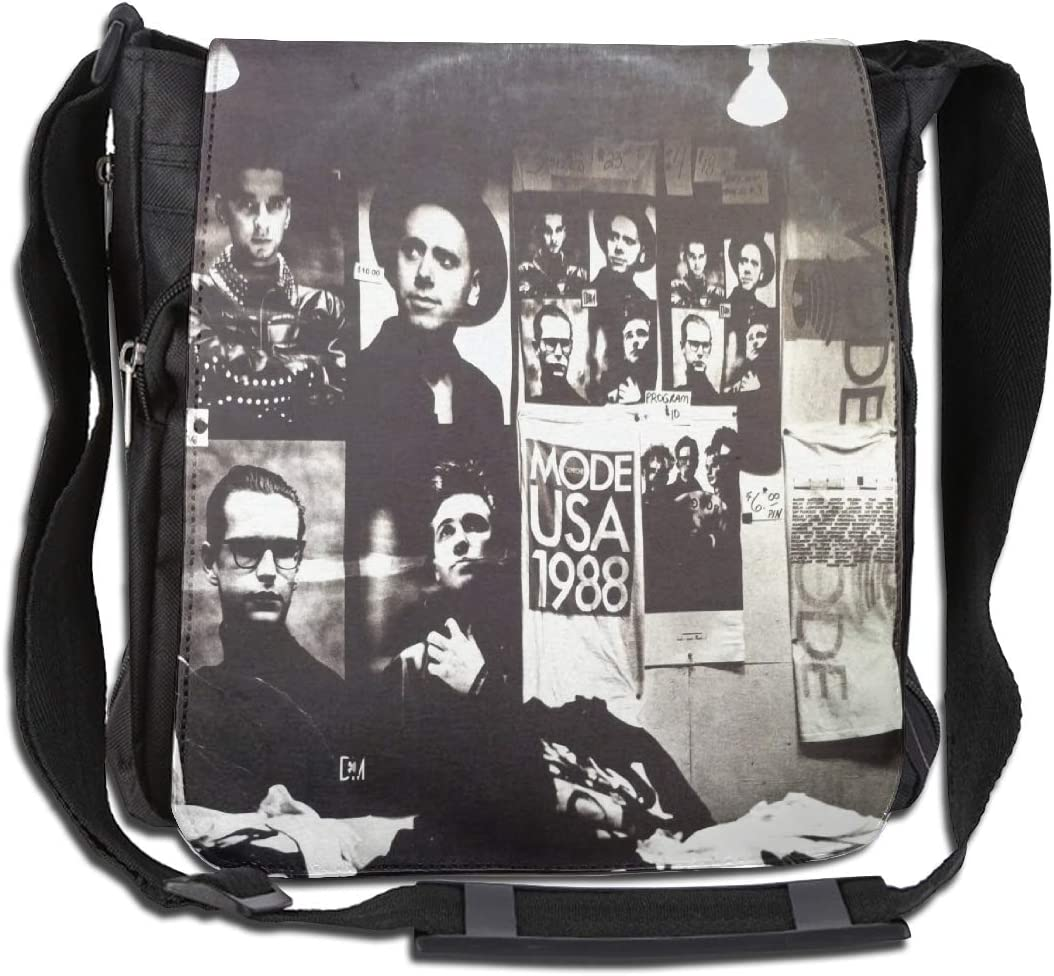 Depeche Mode Large Capacity Messenger Bag Shoulder Bag Simple Fashion Personality