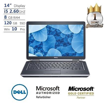 Amazon com: Dell Latitude E6430, Core i5, 8GB, 120GB SSD, 14
