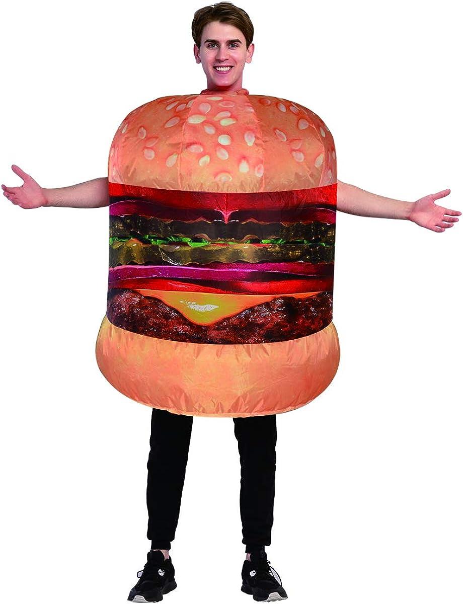 Amazon.com: GOOSH - Disfraz de hamburguesa hinchable para ...