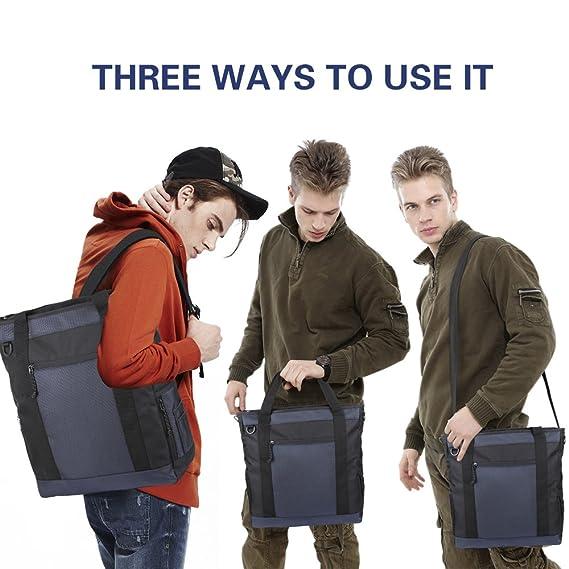 f12fec42c41c Amazon.com: JTW Product Laptop Bag 3-Use Package Canvas Briefcase ...