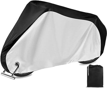 Premium /& Waterproof Bicyle Cover Anti Pluie Soleil UV Poussière Vent avec anti