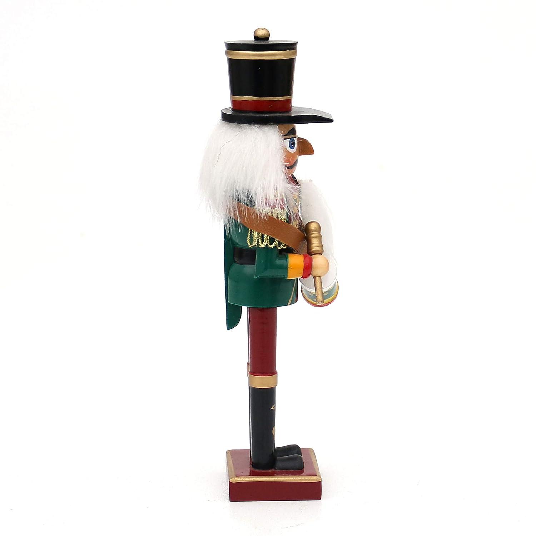 ca 18 cm Dekohelden24 Zauberhafter altdeutscher Nussknacker