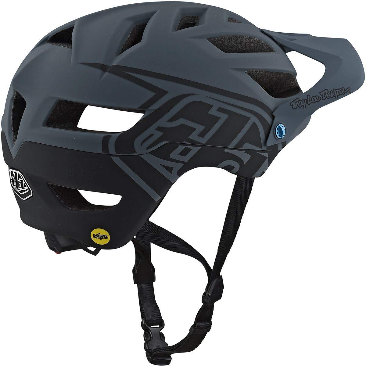 XL//XXL Troy Lee Designs A1 Helmet Drone Drone Gray//Black