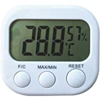 HOMYL Indoor Digital Humidity Temperature Thermometer Sensor, Hygrometer Meter Gauge with LCD Display for Room Home…
