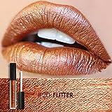 #4: FOCALLURE Metal Lipgloss Lip Gloss Long Lasting Waterproof Lipstick Makeup Cosmetic 12 Types(#20)