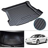 Cargo Mat for 2017-2021 Tesla Model 3 Trunk Mat All Weather Trunk Floor Liner TPO Anti-Slip Durable