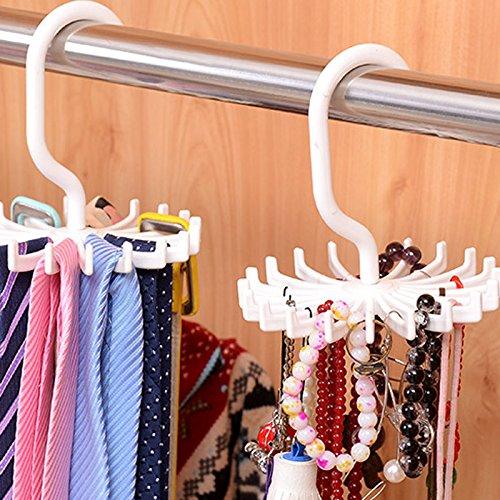 Skyeye Mini Gancho de Corbata de Lazo de Plástico blanco Rotary ...