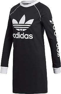 adidas ABITO ORIGINALS DH4706 DRESS BLACK MODA DONNA FASHION LIFESTYLE