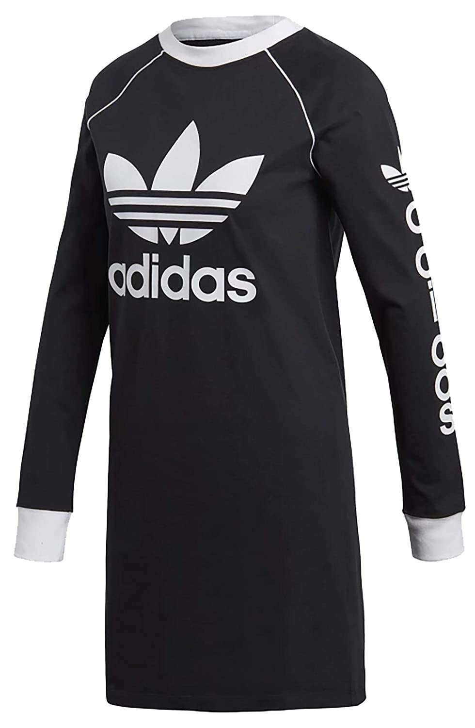 adidas ABITO ORIGINALS DH4706 DRESS BLACK MODA DONNA FASHION LIFESTYLE Taglia 42 DH4706_36