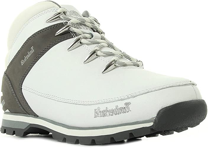 Eliminar Federal Parque jurásico  Timberland Euro Sprint Hiker A165U Boots white Size: 7 UK: Amazon.co.uk:  Shoes & Bags