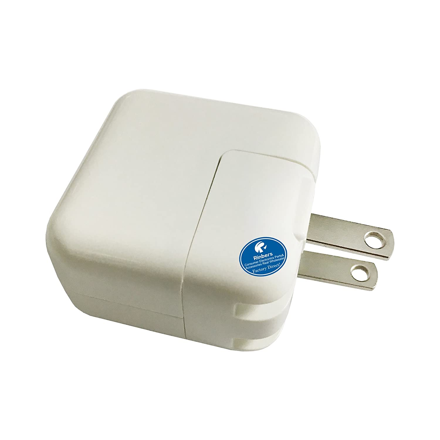 Rinbers Preminum 12W USB Power Adapter Wall Charger for iPad 1 2 3 4 Air Air 2 Mini 1/2/3/4, iPad Pro Rinbers Tech