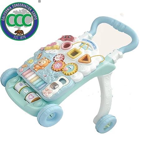 Andador Cochecito De Bebé Bebé Multi-función Ajustable ...