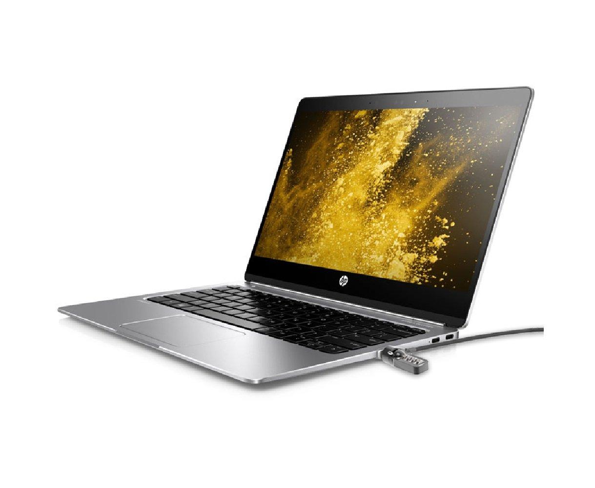 Maclocks FLLDG01KL, Security Leptop Ledge Slot Lock Adapter with Key Cable Lock for HP EliteBook