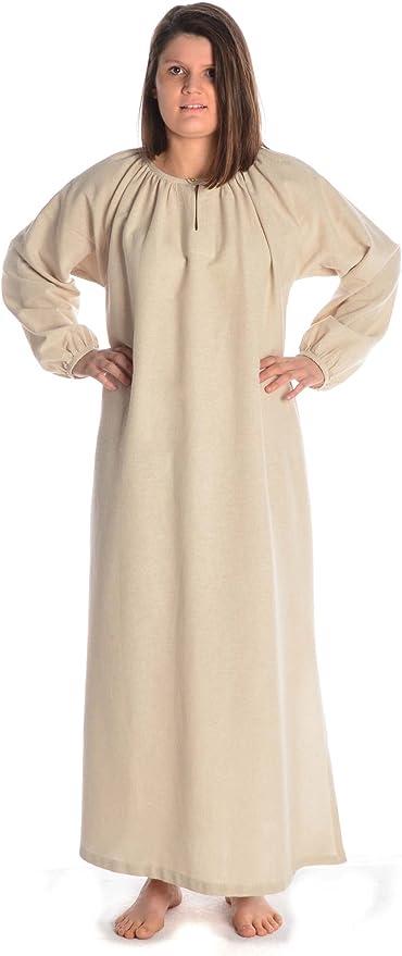Hemad Vestido de Mujer Vikingo - Vestido de algodón Medieval ...