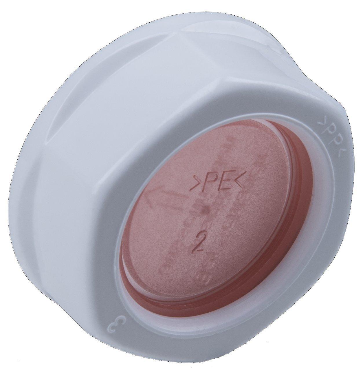 Cornat TEC356402 Bouchon borgne en pvc 1 pour tuyau /évier Multicolore