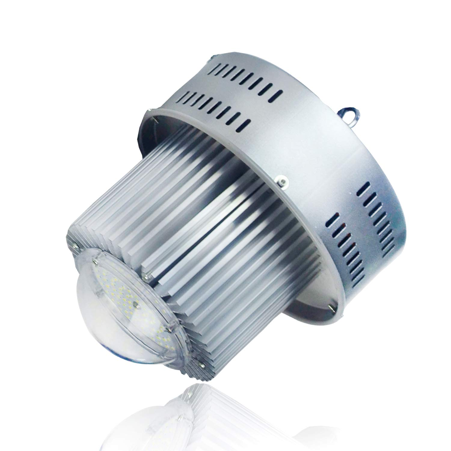 Buyleds 100W UFO High Bay Light LED Shop Lighting,Works from 110V to 277V,300W-350W HPS or MH Bulbs Equivalent,Great LED High Bay Lights for Garage Commercial Shopping Mall (100Watt)
