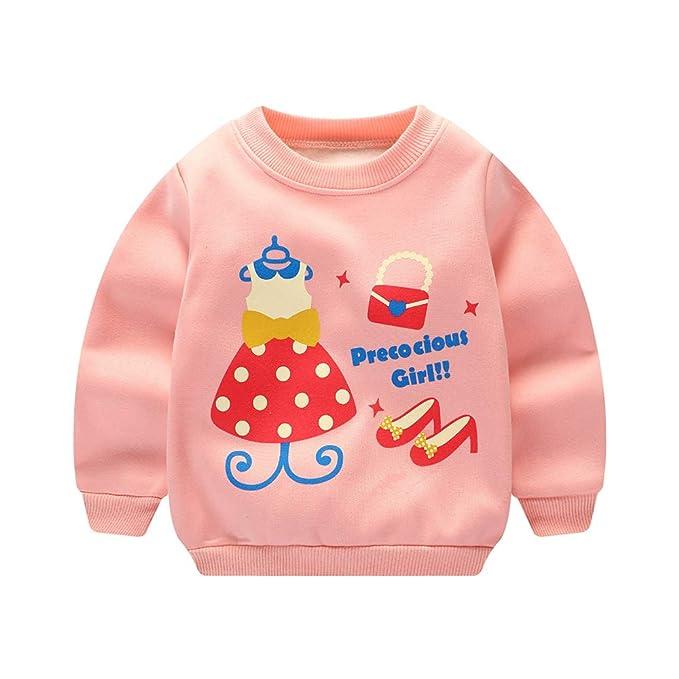 Sudaderas para Niña Navidad Bebé Camisetas de Manga Larga Deporte Sweatshirt Tops Unisexo 3D Estampado Chaquetas Deportivas Invierno 2018: Amazon.es: Ropa y ...