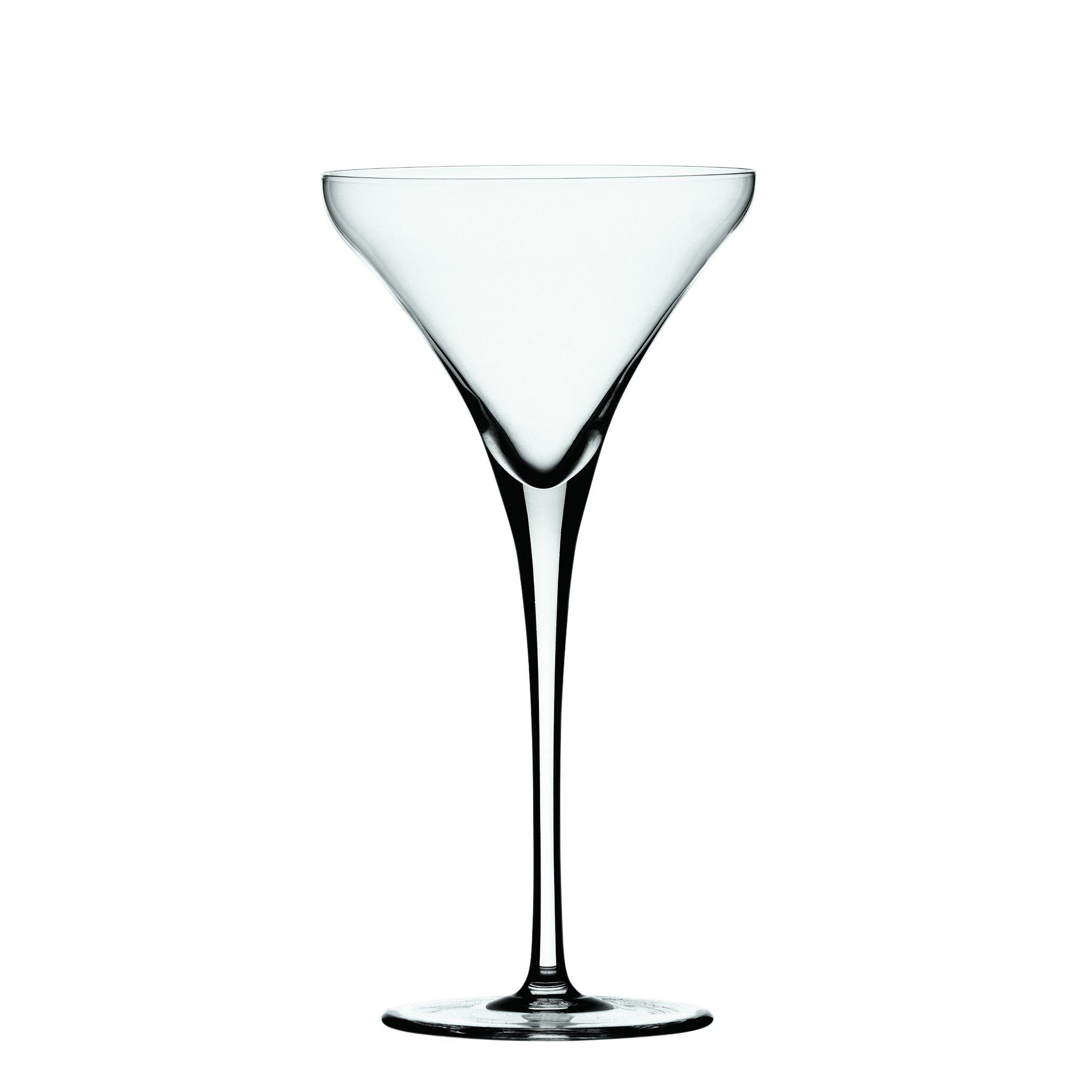 Spiegelau Willsberger Martini Glass (Set of 4), 8.75 oz, Clear