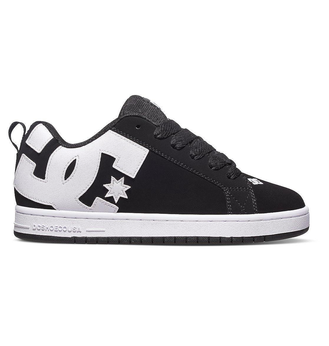 Zapatillas de Piel Vuelta Unisex Adulto Talla 43 EU Color Negro DC Shoes D0300927