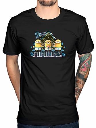 12adf99b9f AWDIP Egipcio Camiseta Oficial de Los Minions Kevin Stuart Bob  Amazon.es   Ropa y accesorios