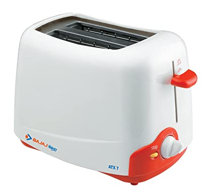 Bajaj Majesty ATX 7 2-Slice Auto Pop-up Toaster