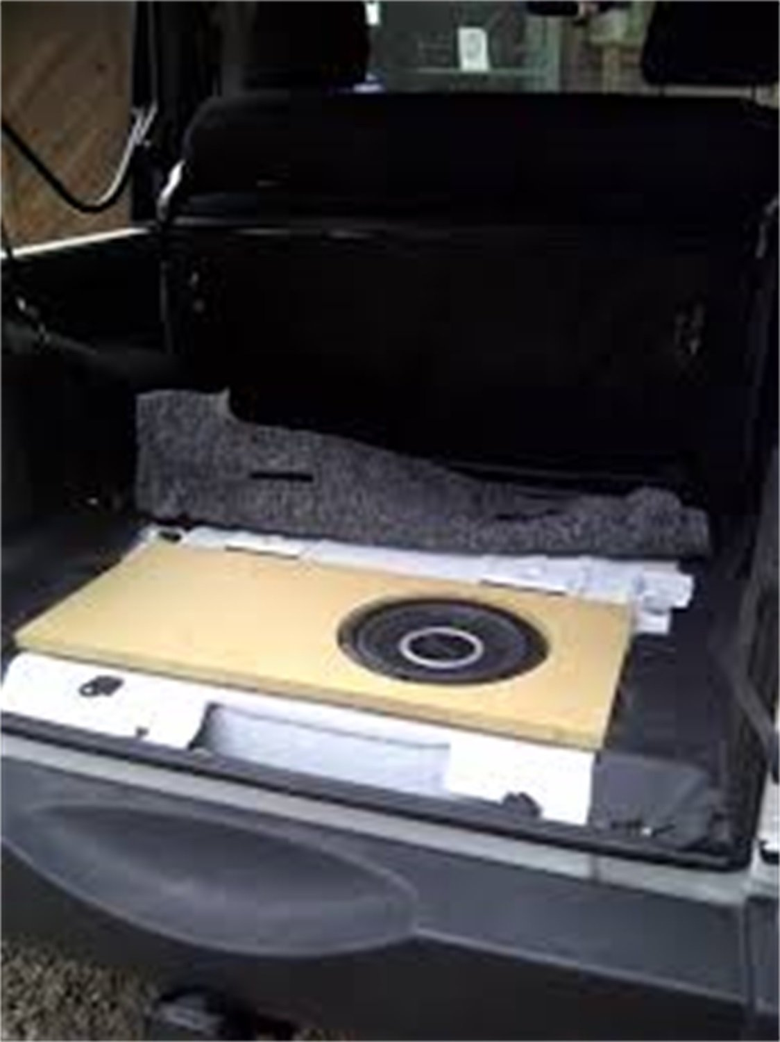 Full Size Floor 1968-1972 El Camino Hushmat 623681 Sound and Thermal Insulation Kit