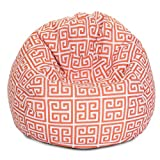 Majestic Home Goods Orange Towers Small Bean Bag