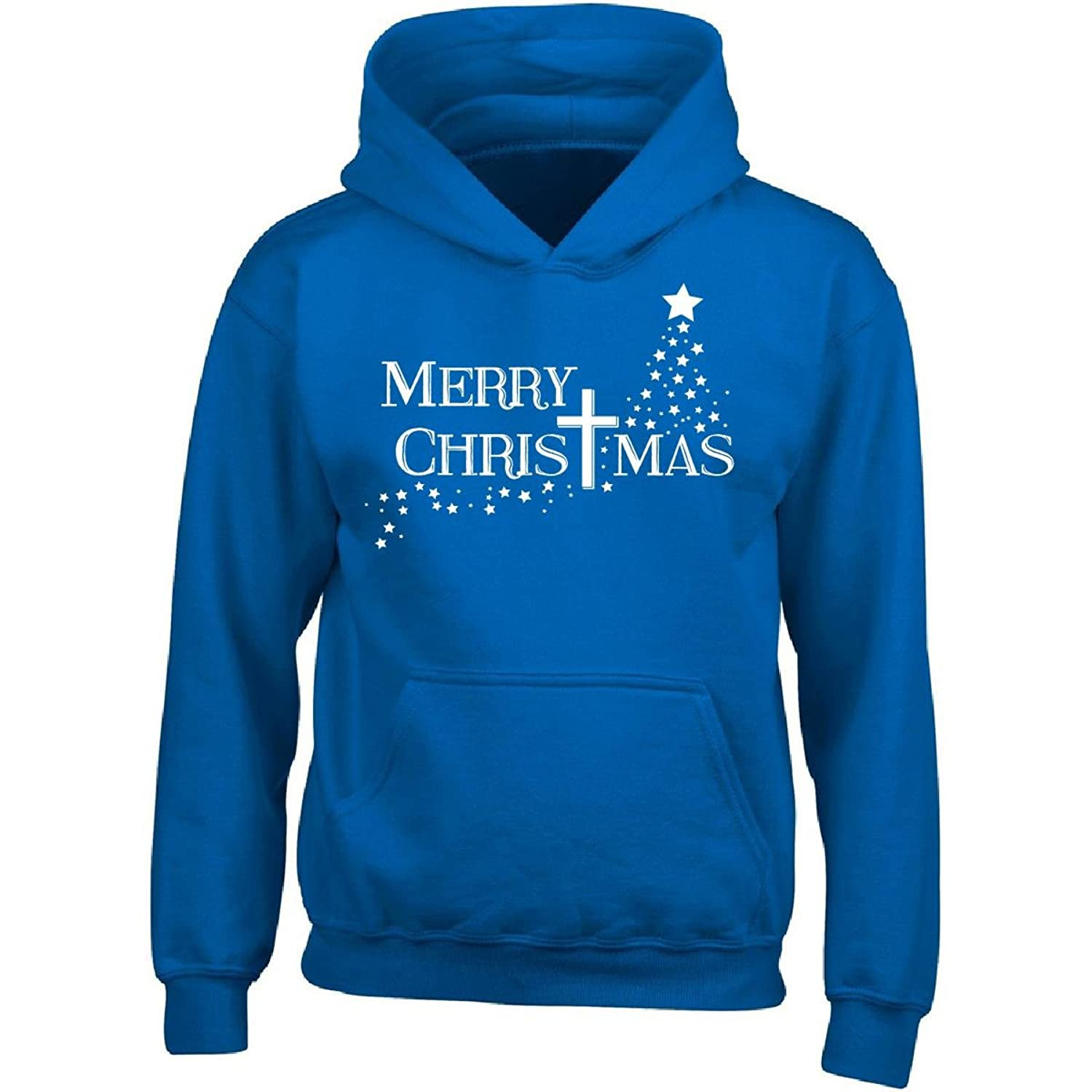 Nice Christian Christmas Gifts Merry Cross Design Ttb1 - Adult Hoodie for sale
