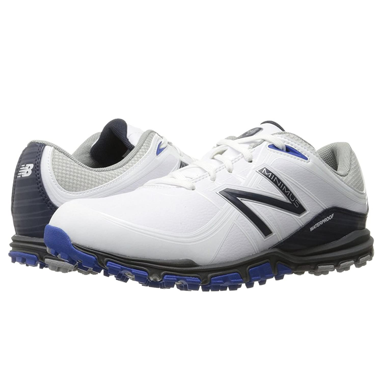 NEW BALANCE NBG1005 WHITE/BLUE ゴルフシューズ [並行輸入品] B07795QQ6B 26.5cm(MENS 8.5(D))