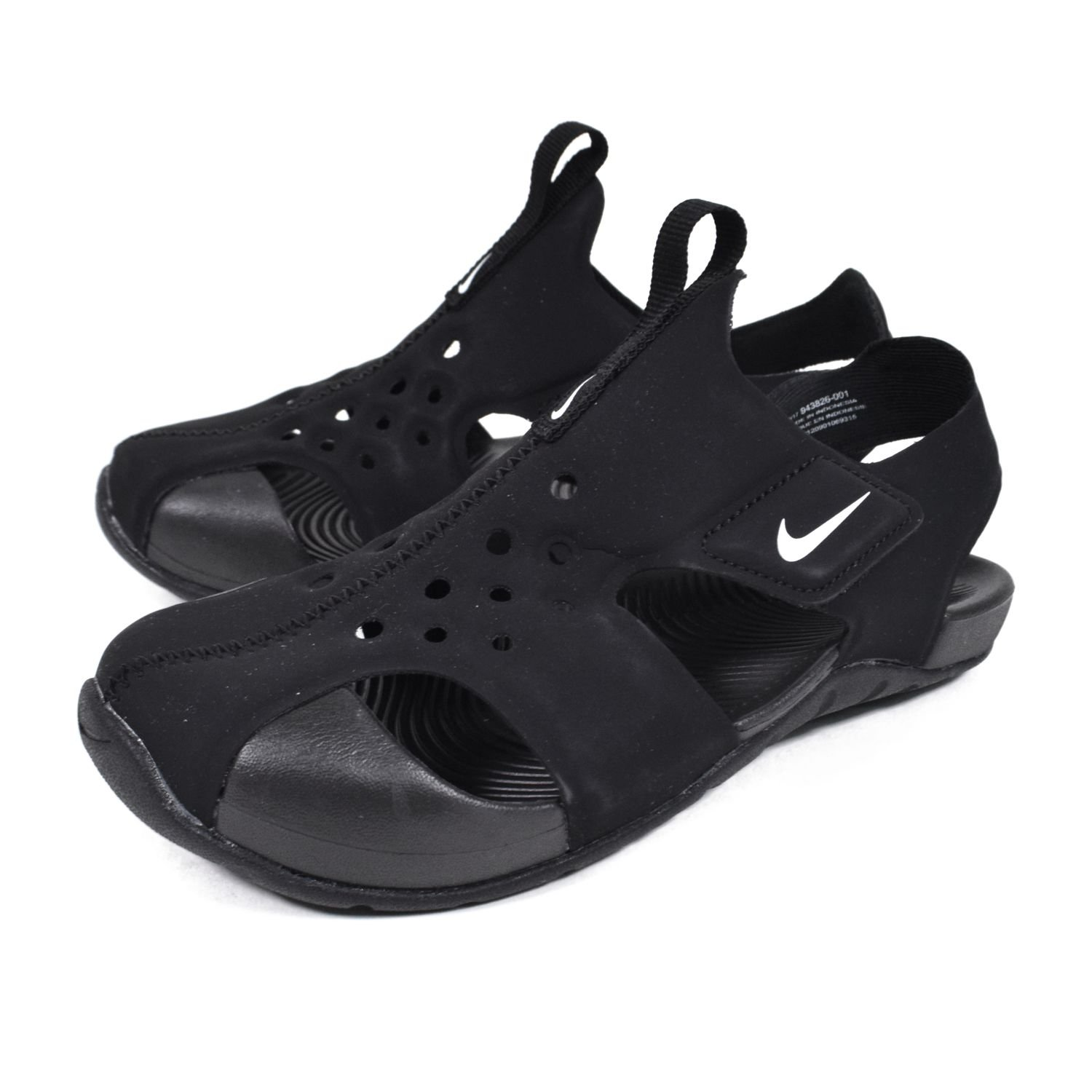 9098fdaadbe1 Nike Sandals - Sunray Protect 2 (PS) Black White Size  32  Amazon.co.uk   Shoes   Bags
