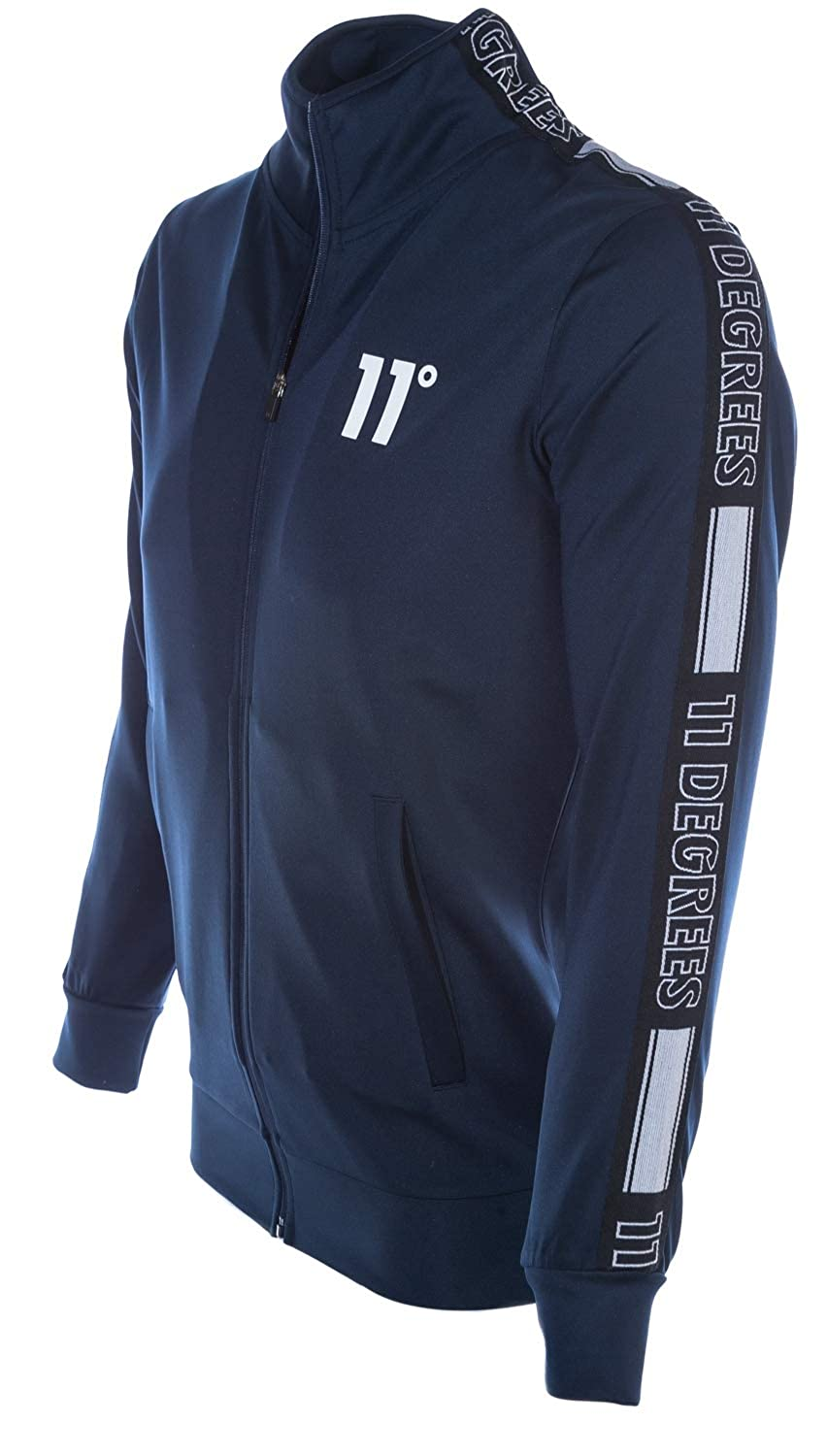 Insignia 11 Degrees Mens Optum Poly Track Top