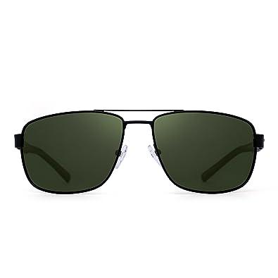 Amazon.com: Gafas de sol polarizadas con marco de metal ...