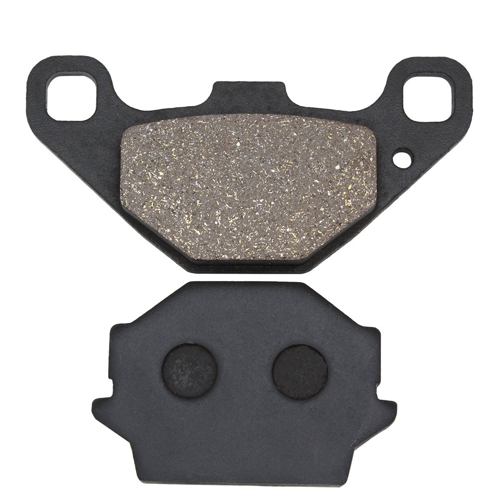 Cyleto Rear Brake Pads for KAWASAKI KMX 125 1986-2003//KX125 KX 125 1987 1988//KMX 200 KMX200 1988 1989 1990 1991 1992