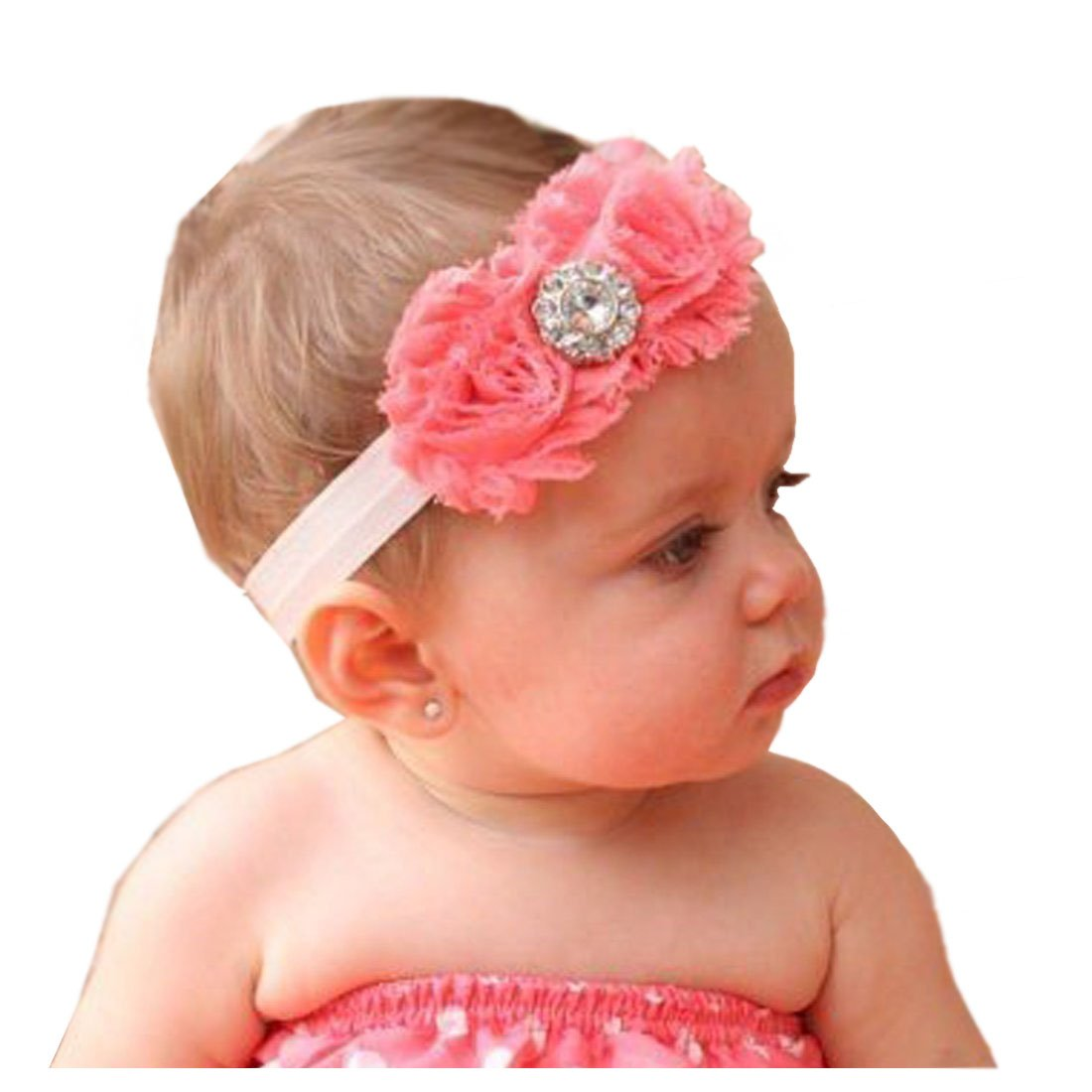 Amazon Susenstone Baby Flower Headband Girl Lace Infant Hair