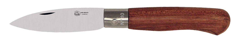 IMEX EL ZORRO 51610 Navaja cabritera, Carbono, Hoja 8 cm, Marrón, M