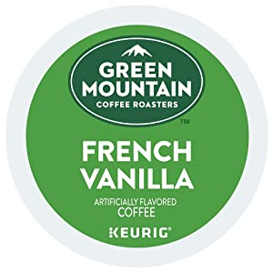 Green Mountain Coffee French Vanilla, Keurig K-Cups (144 Count)
