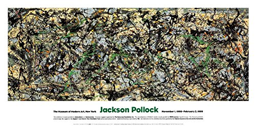 Lucifer Art Print by Jackson Pollock 40 x 20in