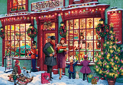 Buffalo Games - Christmas Toyshop - 2000 Piece Jigsaw Puzzle