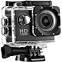 Dragonhoo 12MP HD 1080P Waterproof 30M Sports Action Camera