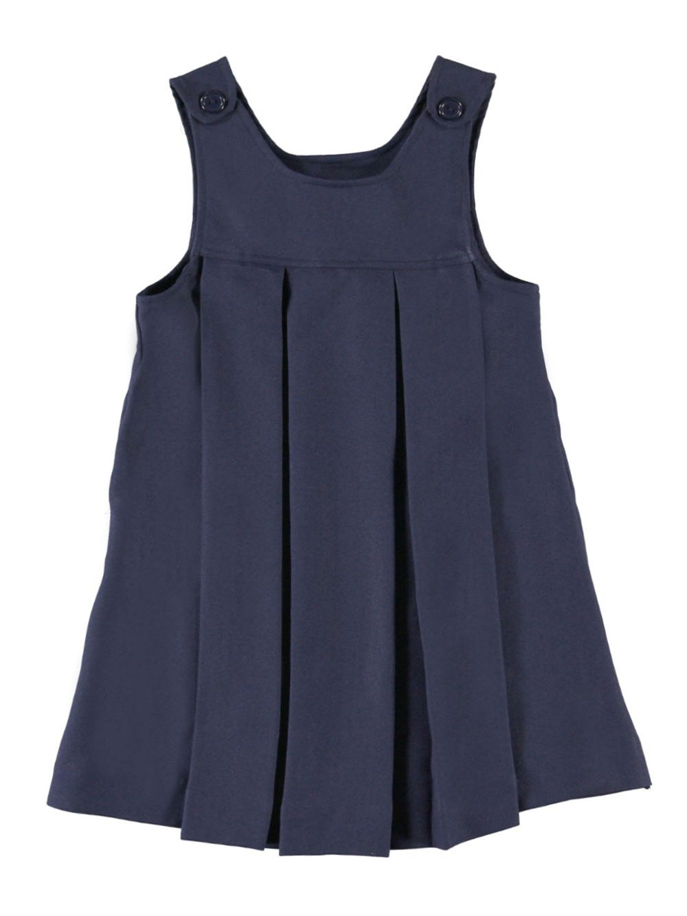 Cookie's Brand Big Girls' Button-Shoulder Jumper - navy, 7